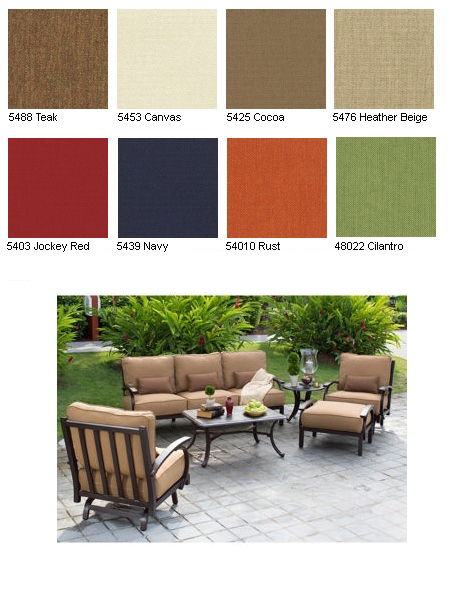 Madison 6 Piece Patio Deep Seating Collection Item No 571243