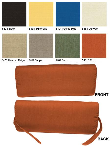 Headrest Pillow 2 Pack Item No PL01HR : PL01HR from www.cushionsumbrellasplus.com size 450 x 600 jpeg 159kB