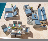Sirio U2013 20 Pc Patio Estate Collection