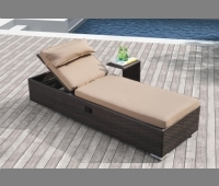 Niko Lounger With Side Table